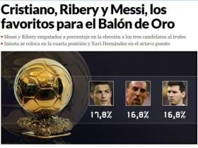 世界杯与金球奖的选择 梅西早已有了答案