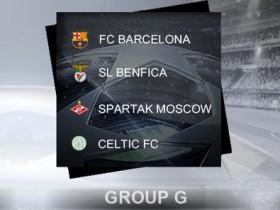 2012-13【欧冠胜经】32强G组:巴塞罗那、宾菲加、莫斯科斯巴达、些路迪