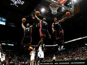 NBA新赛季三足鼎立:热火