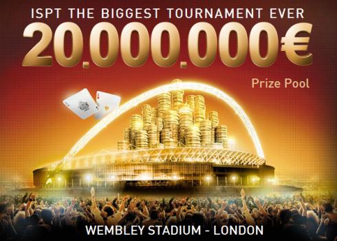 伦敦温布利体育场将举办首届国际体育场扑克巡回赛(ISPT)