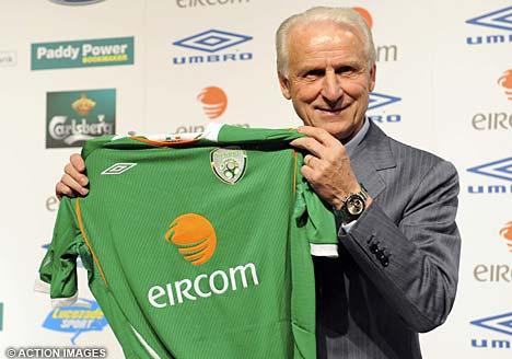 2012欧洲杯,C组分析:爱尔兰