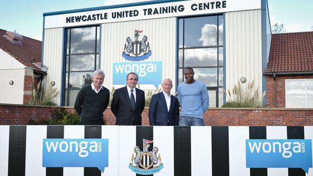 英超俱乐部纽卡斯尔与Wonga.com签约四年