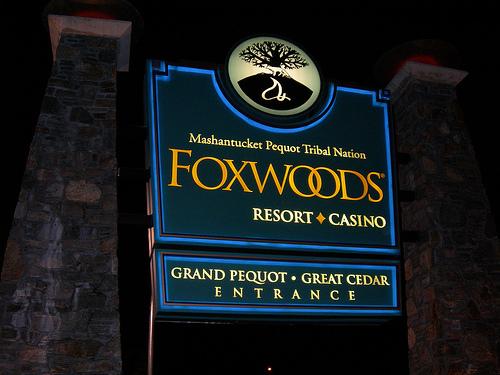 Foxwoods博彩公司十月份收入呈负增长
