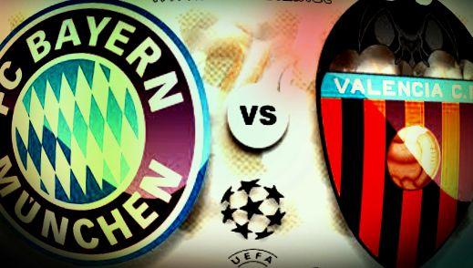 巴伦西亚VS拜仁慕尼黑:蝙蝠只求胜,拜仁准备足