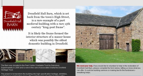 英彩票基金拨80万英镑 修复当菲尔德古建筑
